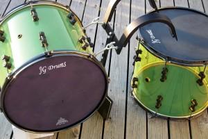 Akryl trommer til Bom Bom patruljen.