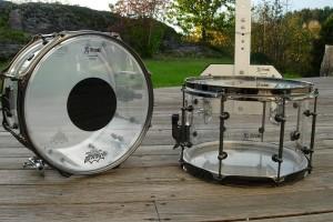12x8 Akryl Tromme